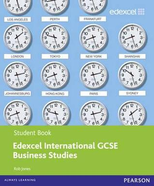 Edexcel Igcse Business Studies Student Book Rob Jones